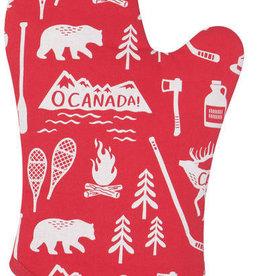 Now Designs Oven Mitt - O Canada