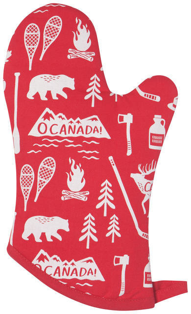 Now Designs Mitt - O Canada