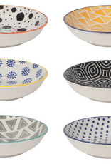 Now Designs Pinch Bowls S/6 - Bits & Dots