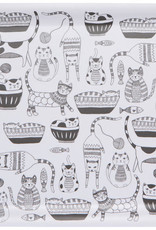 """Now Designs Rectangle Tray - Purr Party 14"""""""