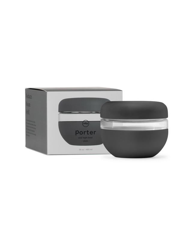W&P Design Porter - Seal Tight Bowl 16oz. - Charc.