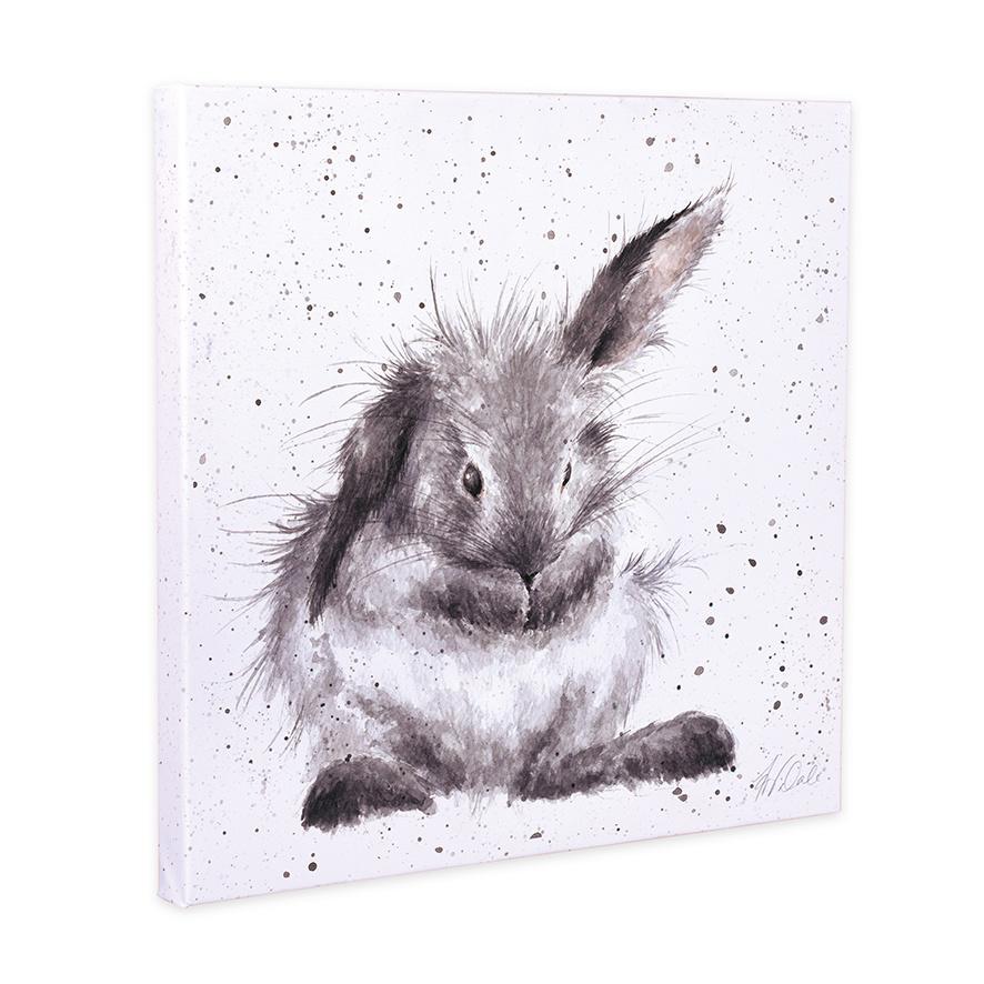 """Wrendale Designs 'Bathtime' Canvas 8""""/20cm Square"""