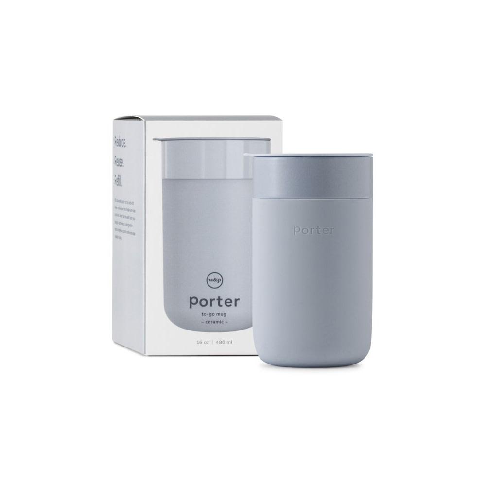 W&P Design Porter-Lrg. Ceramic Mug 16oz. - Slate