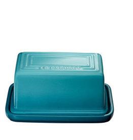 Le Creuset Butter Dish 454gm / 1lb - Caribbean