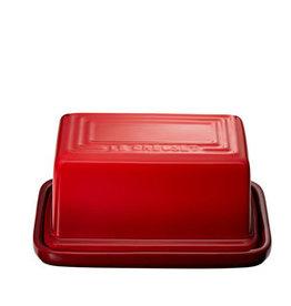 Le Creuset Butter Dish 1lb - Cerise