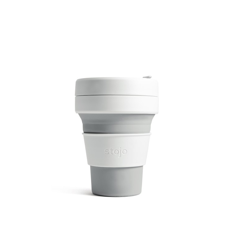 Stojo Stojo Pocket Cup 12oz - Dove