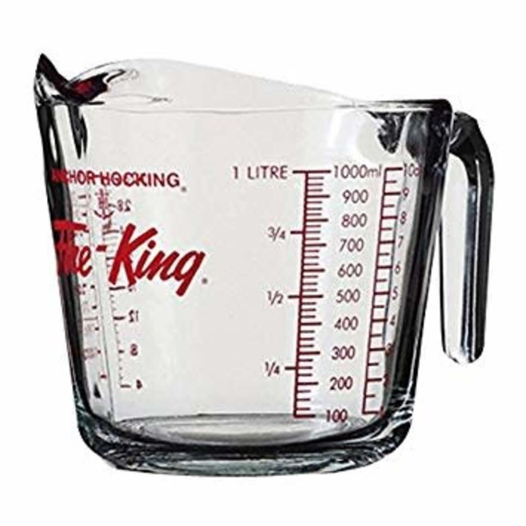 Glass Measuring Cup - 32oz/4cup/1L