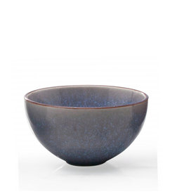 "4.5"" Reactive Glazed Dip Bowl - Blue"
