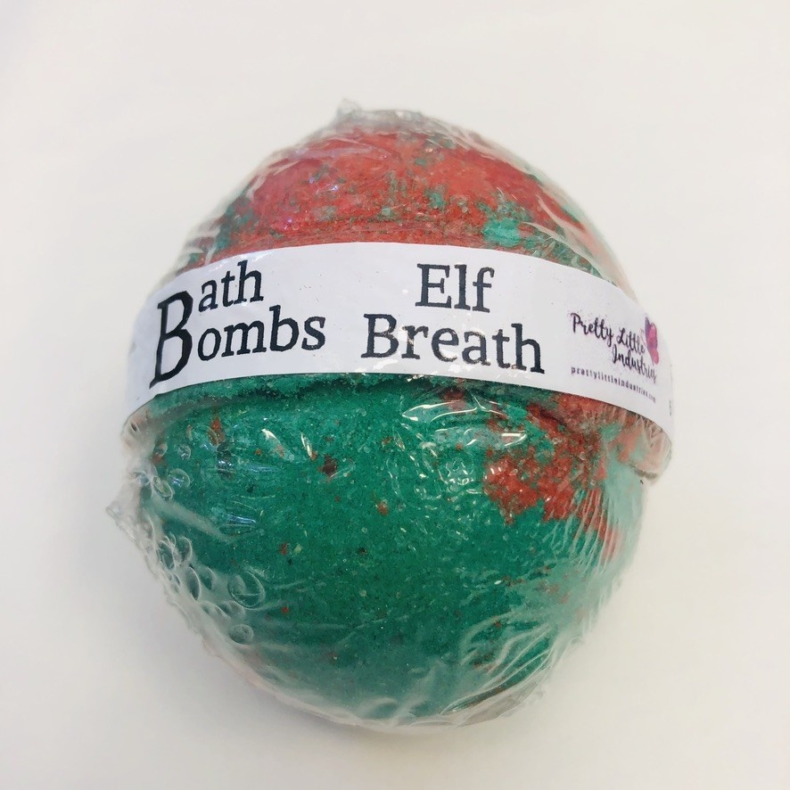 Elf Breath - Bath Bomb