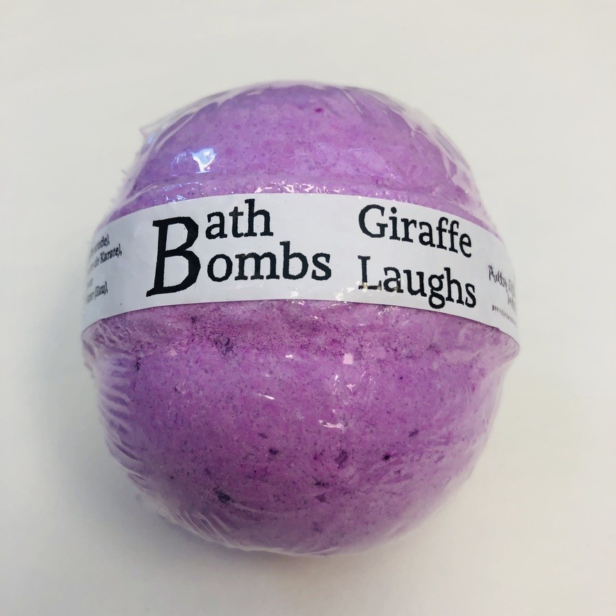 Giraffe Laughs - Bath Bomb