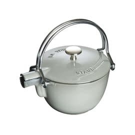 Staub 1.15L  /1.2qt Cast Iron Tea Pot - Grey