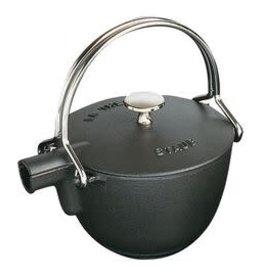 Staub 1.15L  /1.2qt Cast Iron Tea Pot - Black