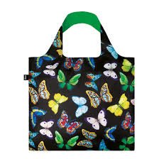 Loqi Tote Bag - Wild Butterflies