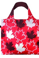 Loqi Tote Bag - Travel - Maple Leaves