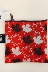 Loqi Tote Bag - Travel - Maple Leaves