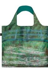 Loqi Tote Bag - Museum - Japanese Footbridge - Claude Monet