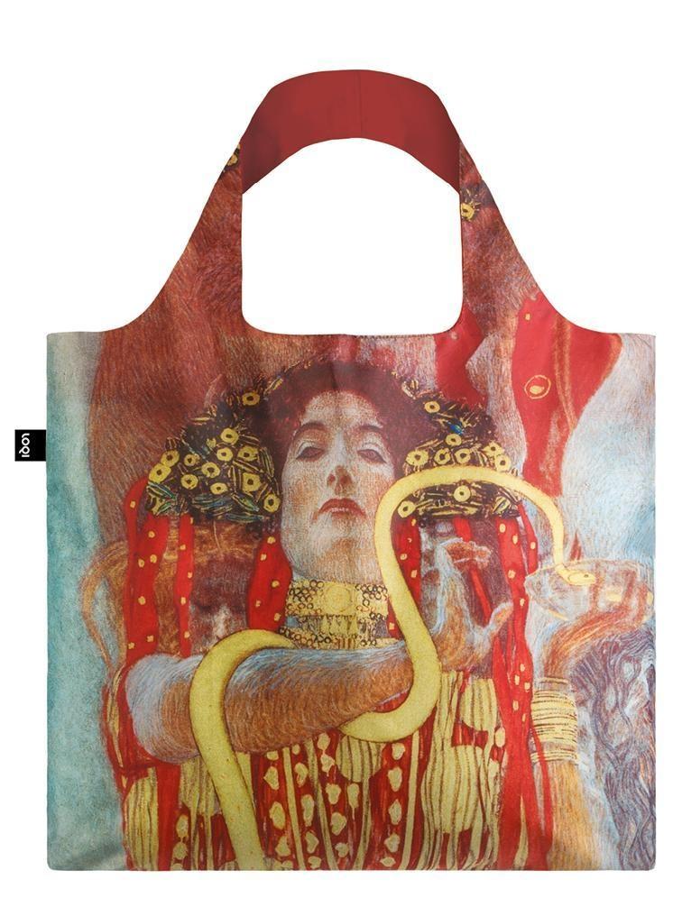 Loqi Tote Bag - Museum - Hygieia - Gustav Klimt
