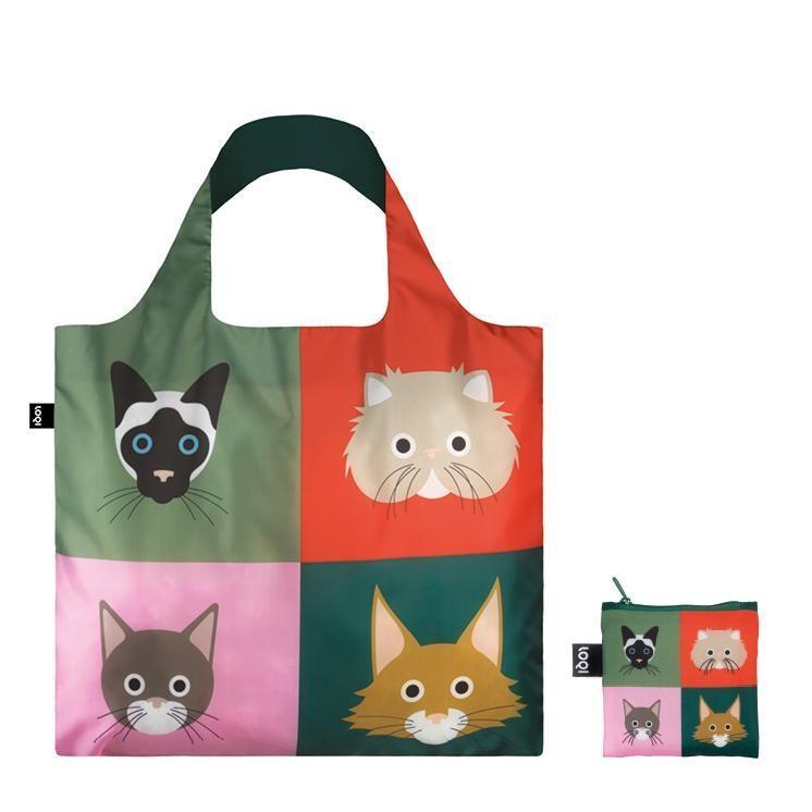 Loqi Tote Bag - Stephen Cheetham - Cats