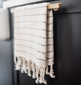 House of Jude Mini Turkish Towel - Onyx