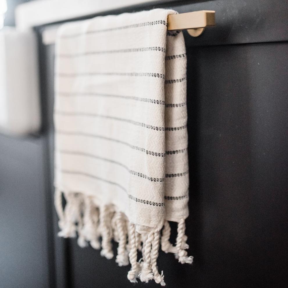 House of Jude Mini Turkish Towel - Onyx