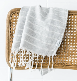 House of Jude Mini Turkish Towel - Stone