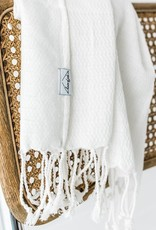 House of Jude Mini Turkish Towel - Vanilla