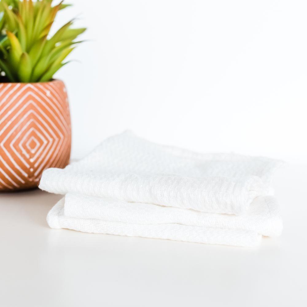 House of Jude Wash Cloth - Vanilla