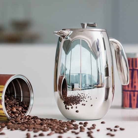 Columbia Stainless Steel French Press 1.0L/34oz