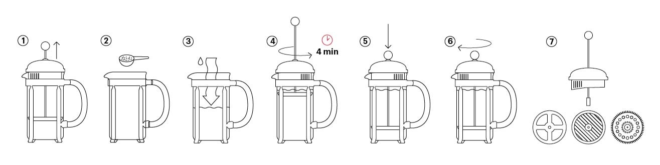 Chambord French Press 1.5L/51oz
