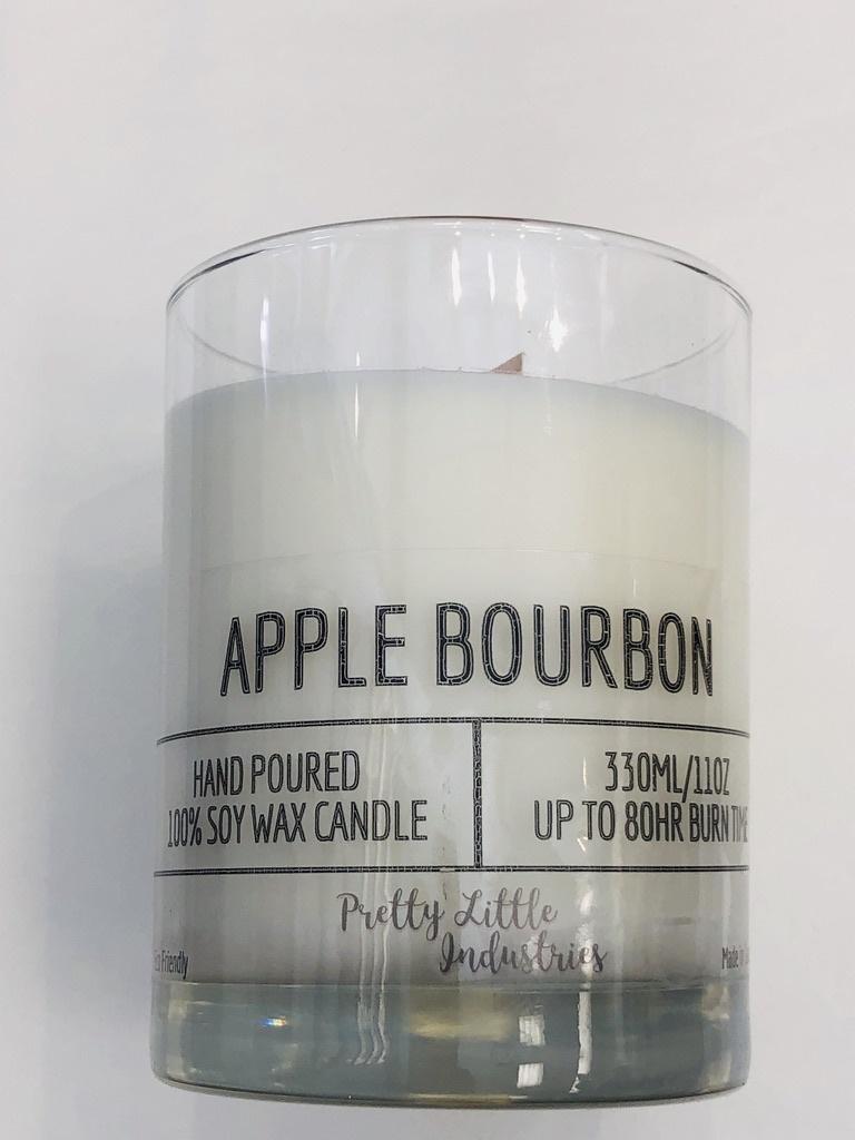 Apple Bourbon Wood Wick Candle - 330ml