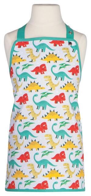 Now Designs Kid's Apron - Dandy Dinos