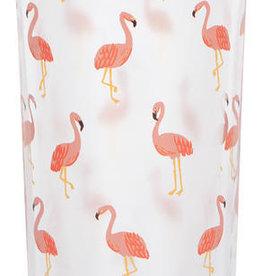Now Designs Beverage Tumbler - Flamingos