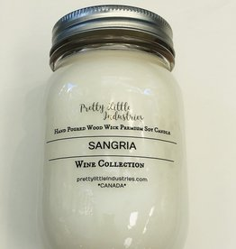 Wood Wick Candle - Sangria - 500ml