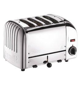 NewGen 4 Slot Toaster - Chrome