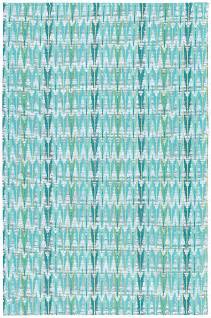 Now Designs Looma Dish Towel Zig Zag Turquoise