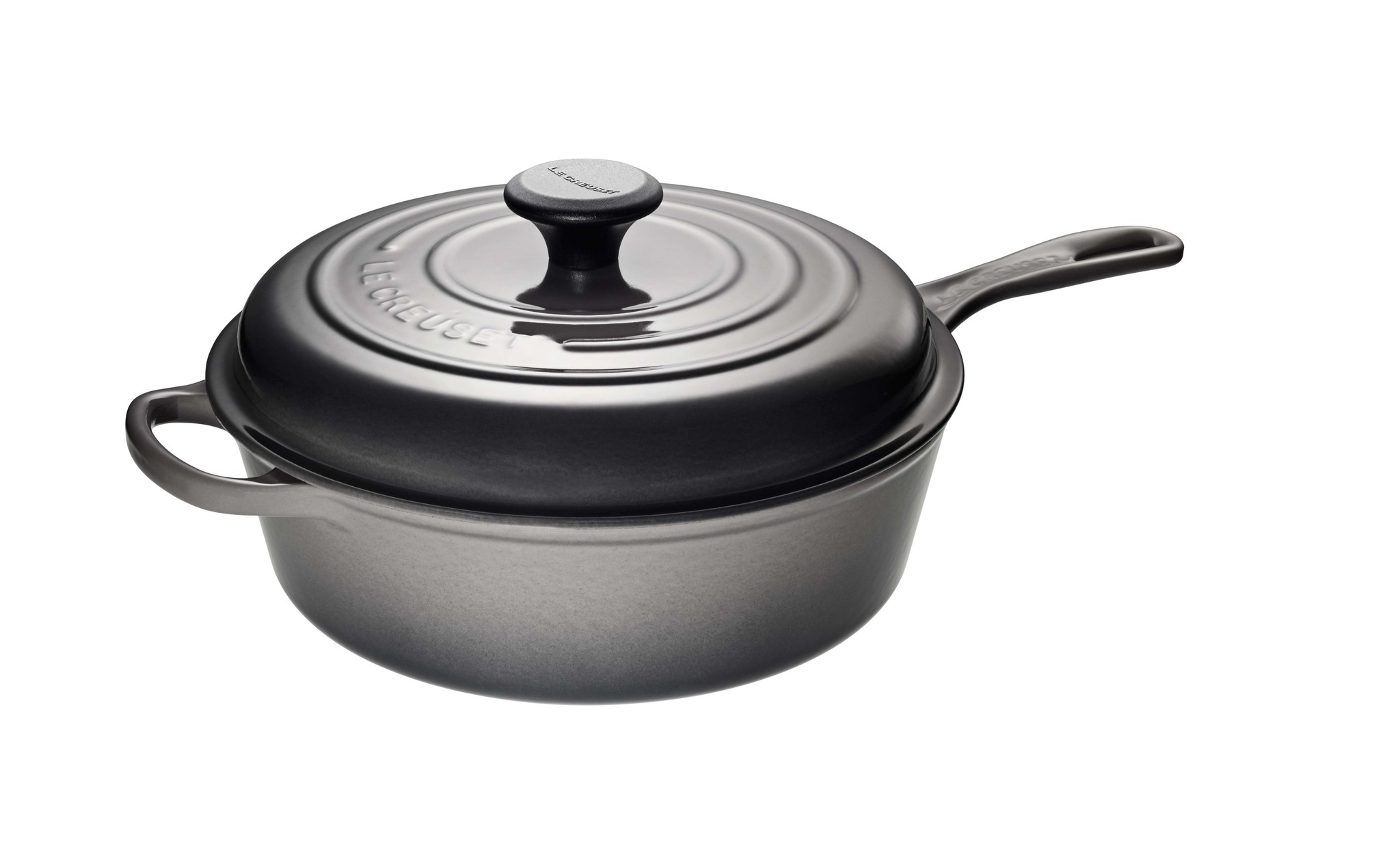 Le Creuset 3.5L Covered Saute Pan -Oyster