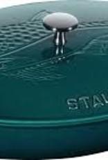 Staub 2.1L  /2.25qt Oval Cast Iron  Gratin Dish w/Lid - La Mer