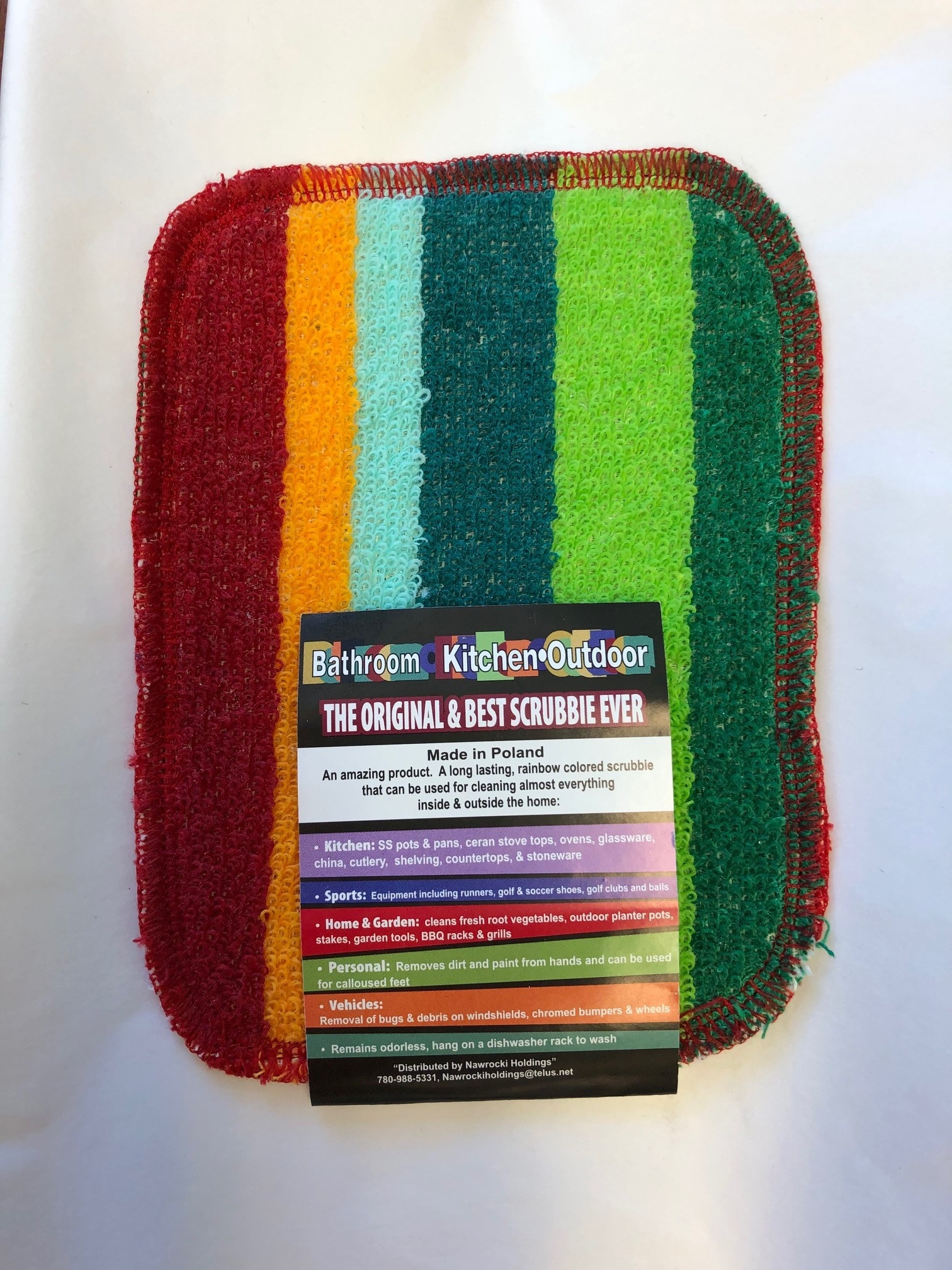 Rainbow Scrubby - Assorted colours