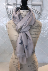 Wrendale Designs 'Glamour Puss' Cat Scarf