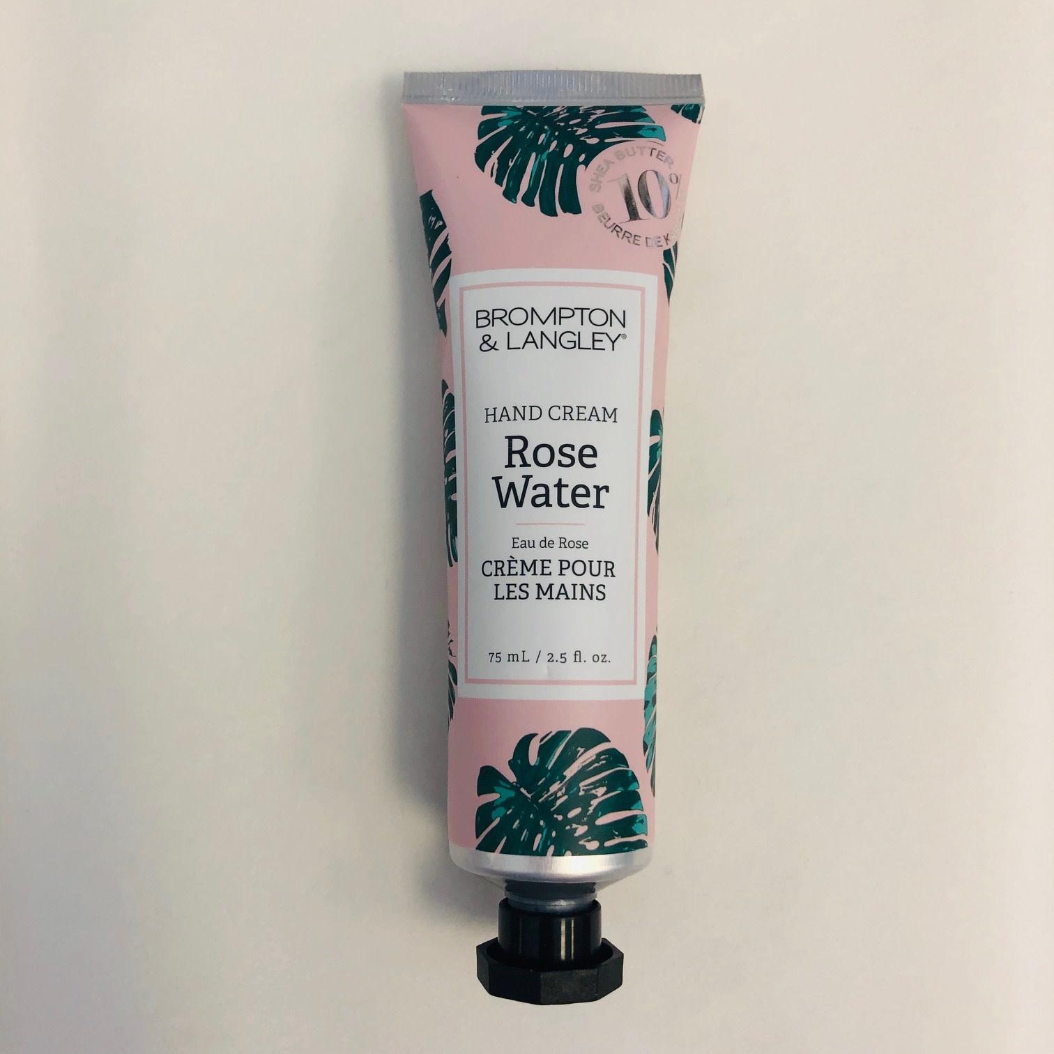 B&L Hand Cream 75ml - Rose Water
