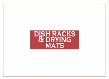 Dish Rack & Drying Mats