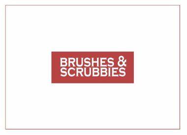 Brushes & Scrubbies