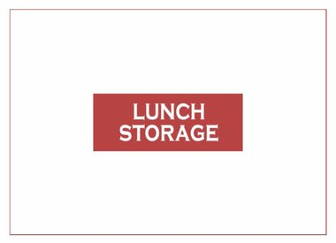 Lunch Storage