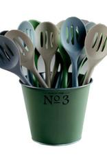 "11""  Classic Slotted Spoon Silicone - Coastal"