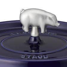 Staub Animal Knob - Pig