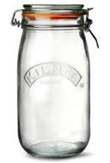 Cliptop Jar 1.5L with Glass Lid