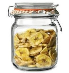 Cliptop Jar 1L with Glass Lid