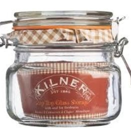 Cliptop Jar 0.5L with Glass Lid