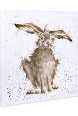 Wrendale Designs 'Hair-Brained' Canvas
