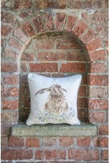 Wrendale Designs 'Bright Eyes' Hare Cushion - 16
